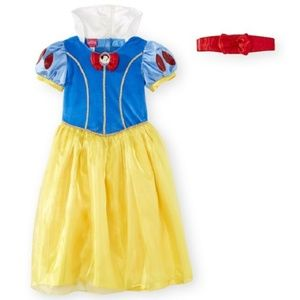 Tod Little Girls DELUXE Snow White Costume 4T/5T